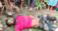 কুলিয়ারচরে কলাবাগান থেকে অজ্ঞাত পরিচয় এক ব্যক্তির মরদেহ উদ্ধার